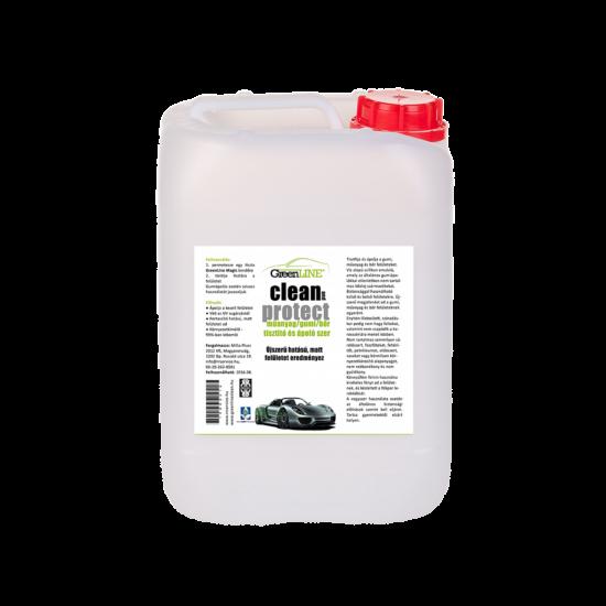 Green Line Clean and Protect Gumi/műanyag/bőr ápoló, 25 l
