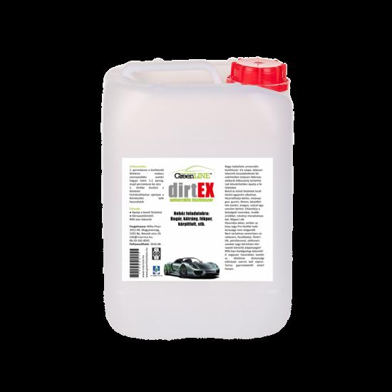 Green Line DirtEX Nagy hatékonyságú univerzális tisztítószer, 25 l koncentrátum