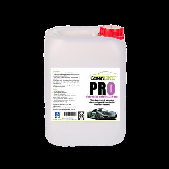 Green Line PRO Vízmentes autótisztító szer + Carnauba Wax, 5 l koncentrátum